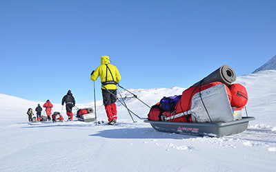 Guidad expedition i Sarek