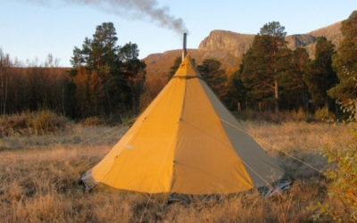 Hyra tält och annan lägerutrustning Laponia Adventures