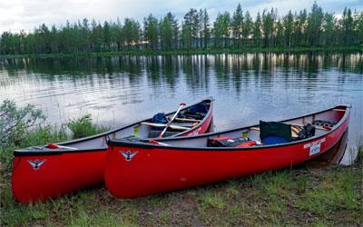 rent Canadian canoe