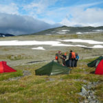 Camp during Sarek hike