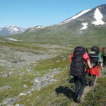 Hiking in Sarek