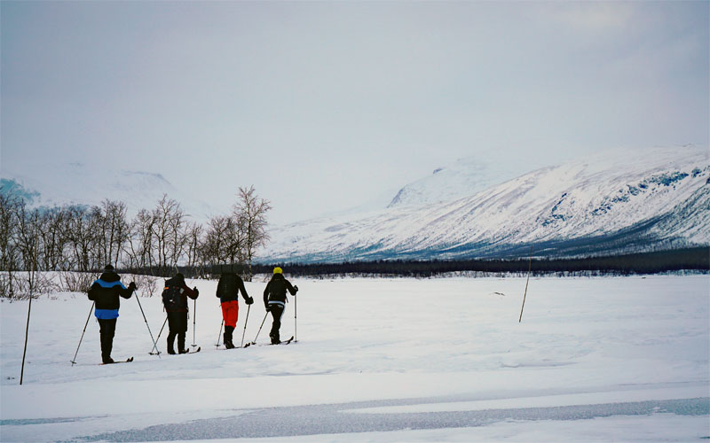 Kungsleden in winter